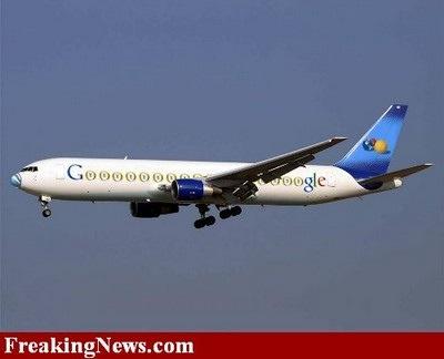 google-jet-boeing-767