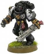 Black Templar Minature